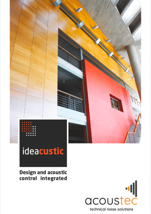 Ideacustic Acoustic Brochure