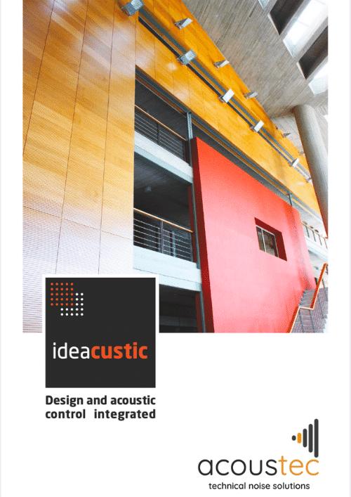 Ideacustic Acoustic Brochure