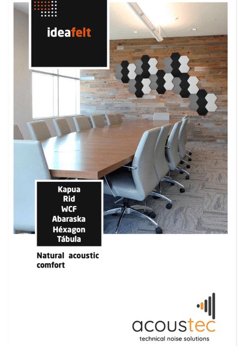 Ideacustic ideafelt brochure