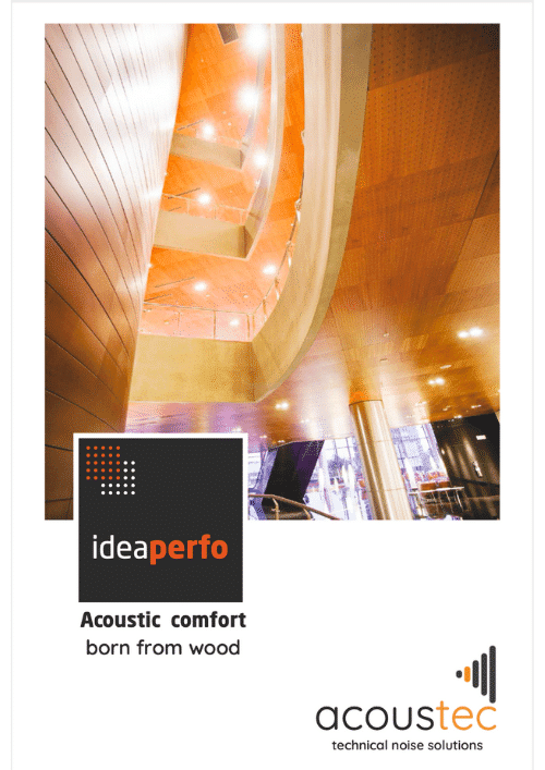 Ideacustic Ideaperfo Brochure