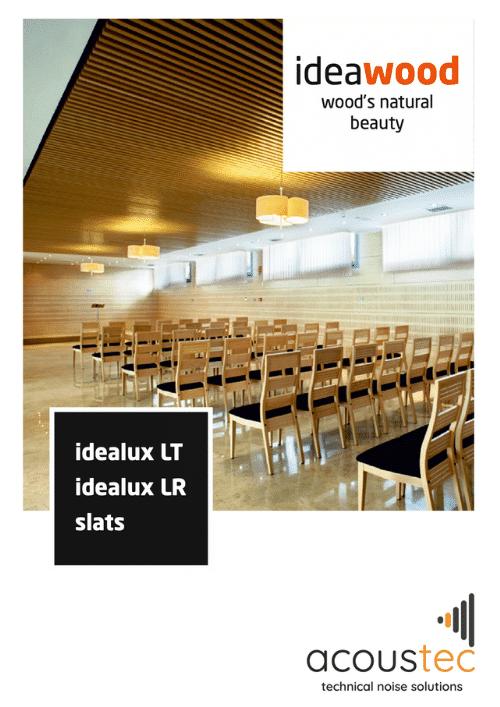 Ideacustic Ideawood brochure