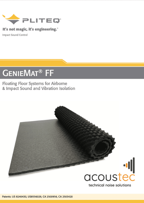 GenieMat FF technical datasheet
