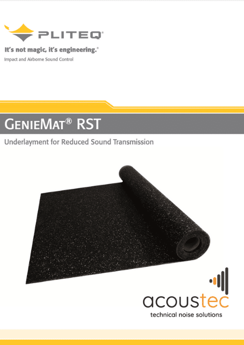 GenieMat RST technical datasheet