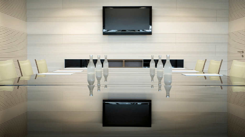 Ideatec wood sound absorption wall panels