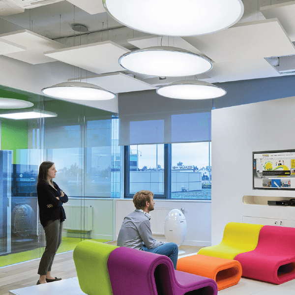 Ecophon solo square acoustic ceiling boards